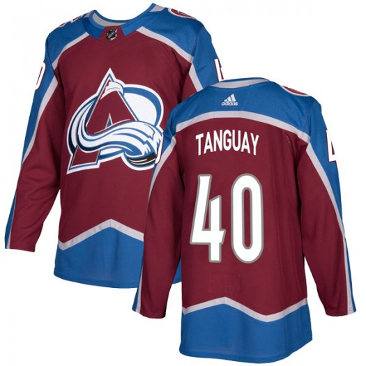 Alex Tanguay Colorado Avalanche Youth Adidas Authentic Burgundy Home Jersey