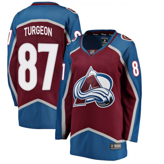 Pierre Turgeon Colorado Avalanche Women's Fanatics Branded Breakaway Maroon Home Jersey