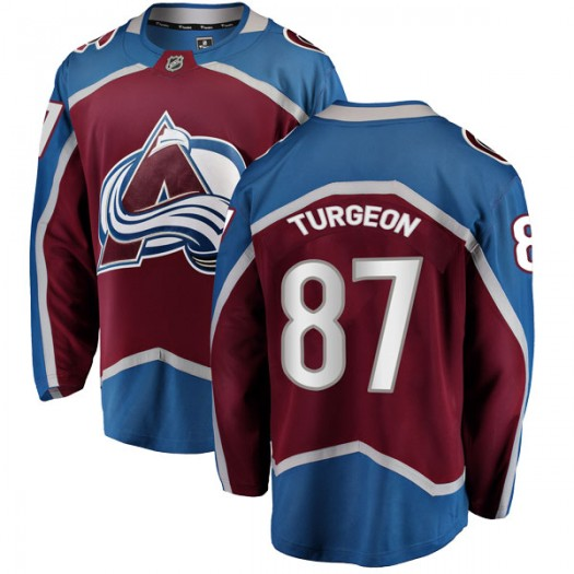 Pierre Turgeon Colorado Avalanche Youth Fanatics Branded Breakaway Maroon Home Jersey