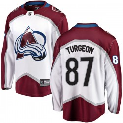 Pierre Turgeon Colorado Avalanche Youth Fanatics Branded White Breakaway Away Jersey