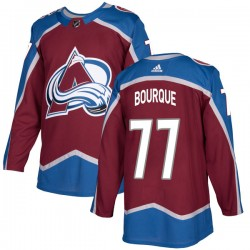 Raymond Bourque Colorado Avalanche Youth Adidas Authentic Burgundy Home Jersey