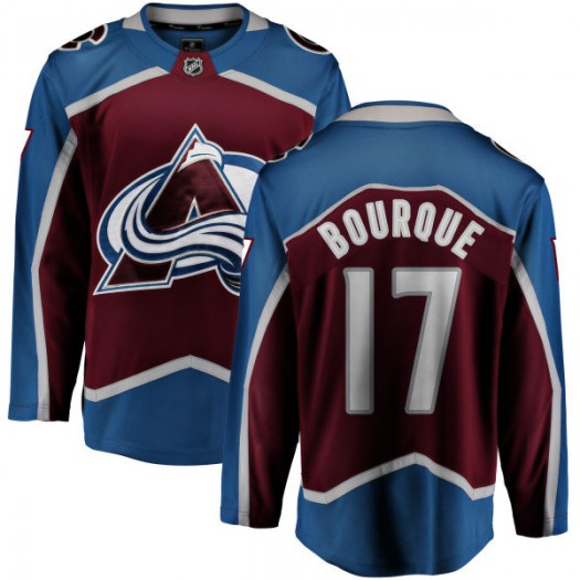 Rene Bourque Colorado Avalanche Youth Fanatics Branded Maroon Home Breakaway Jersey