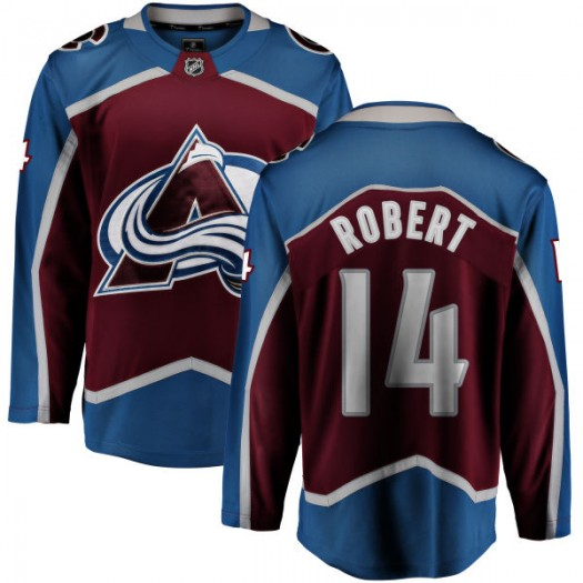 Rene Robert Colorado Avalanche Youth Fanatics Branded Maroon Home Breakaway Jersey