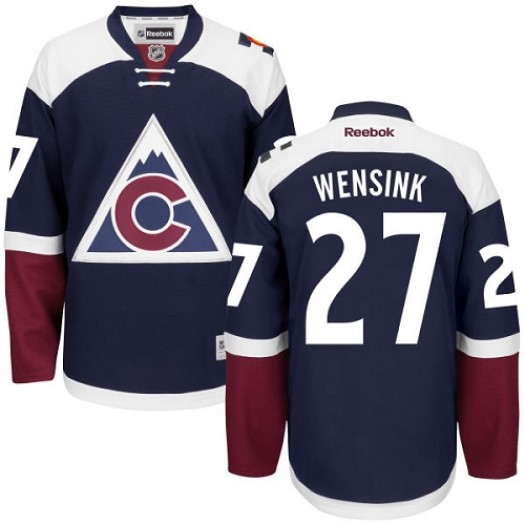 John Wensink Colorado Avalanche Men's Reebok Authentic Blue Third Jersey