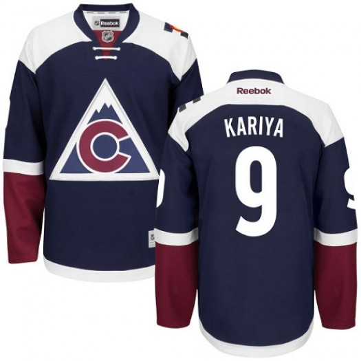 Paul Kariya Colorado Avalanche Men's Reebok Authentic Blue Third Jersey