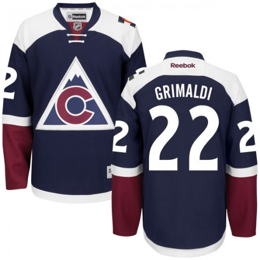 Rocco Grimaldi Colorado Avalanche Men's Reebok Authentic Navy Alternate Jersey