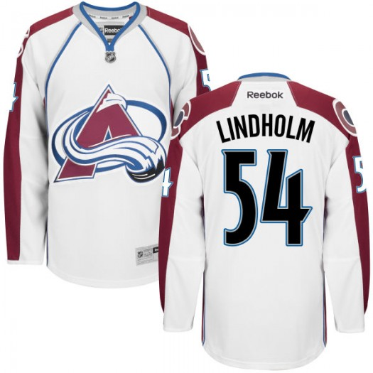 Anton Lindholm Colorado Avalanche Men's Authentic White Home Jersey